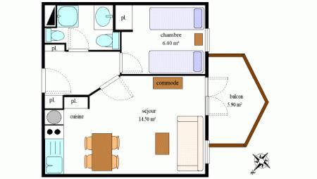 Appartements La Combe